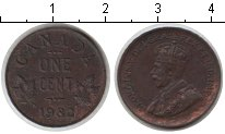 Изображение Монеты Канада 1 цент 1932 Медь VF