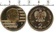 Изображение Мелочь Польша 2 злотых 2013  UNC- Витольд Лютославский