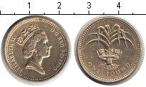 Изображение Мелочь Великобритания 1 фунт 1990  XF