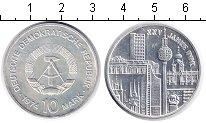 Изображение Монеты ГДР 10 марок 1974 Серебро UNC- 25 лет ГДР