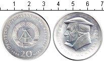 Изображение Монеты ГДР 20 марок 1989 Серебро UNC