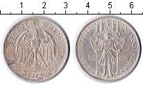 Изображение Монеты Веймарская республика 3 марки 1929 Серебро XF 1000-летие Мейсена.