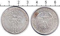 Изображение Монеты Веймарская республика 3 марки 1929 Серебро VF 1000-летие Мейсена.