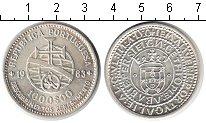 Изображение Монеты Португалия 1000 эскудо 1983 Серебро UNC 17-я Европейская арт