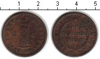 Изображение Монеты Гаити 2 сантима 1846 Медь XF