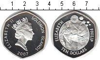 Изображение Монеты Соломоновы острова 10 долларов 2007 Серебро Proof