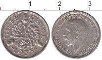 Изображение Мелочь Великобритания 3 пенса 1936 Серебро XF