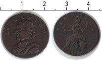 Изображение Монеты Великобритания 1 фартинг 1793 Медь VF Ньютон