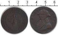 Изображение Монеты Великобритания 1/2 пенни 1791 Медь XF-