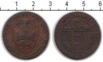 Изображение Монеты Великобритания 1/2 пенни 1792 Медь XF Токен. Норвик