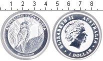 Изображение Монеты Австралия 1 доллар 2014 Серебро Proof-