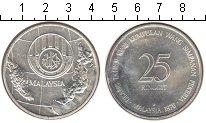 Изображение Монеты Малайзия 25 рингит 1976 Серебро UNC