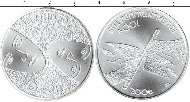 Картинка Мелочь Финляндия 10 евро Серебро 2006