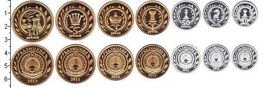 Изображение Наборы монет Россия Калмыкия 2013 2013  Proof- В наборе 7 монет ном