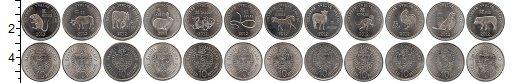 Изображение Подарочные монеты Сомалиленд Сомалиленд 2012 2012 Медно-никель UNC В наборе 12 монет но