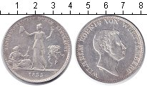 Изображение Монеты Вюртемберг 1 талер 1833 Серебро VF