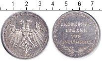 Изображение Монеты Франкфурт 1 талер 1848 Серебро VF Избрание викарием эр