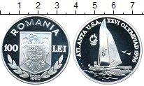 Изображение Монеты Румыния 100 лей 1996 Серебро Proof