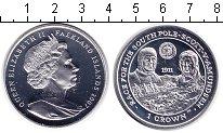 Изображение Монеты Фолклендские острова 1 крона 2007 Серебро Proof Экспедиция Скотта и
