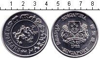 Изображение Мелочь Сингапур 10 долларов 1988 Медно-никель XF