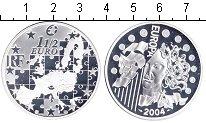 Изображение Монеты Франция 1 1/2 евро 2004 Серебро Proof Европейский Валютный