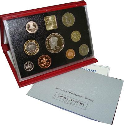 Изображение Подарочные наборы Великобритания Леди Диана 1999  Proof Диана, принцесса Уэл