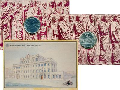 Изображение Подарочные наборы Италия Гораций 1993  UNC