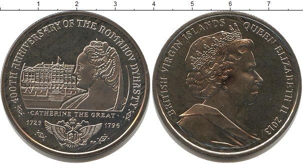 Картинка Мелочь Виргинские острова 1 доллар Медно-никель 2013