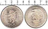 Изображение Мелочь Мексика 25 песо 1968 Серебро