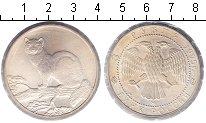 Изображение Монеты Россия 3 рубля 1995 Серебро XF Соболь