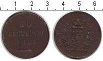 Изображение Монеты Сан-Марино 10 сентесим 1894 Медь XF