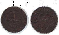 Изображение Монеты Сардиния 1 сентесимо 1826 Медь VF