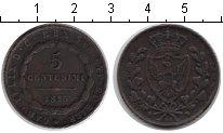 Изображение Монеты Сардиния 5 сентесим 1826 Медь XF SARDINIA