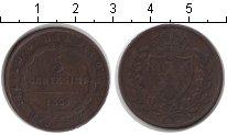 Изображение Монеты Сардиния 5 сентесим 1826 Медь VF