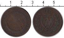 Изображение Монеты Сардиния 5 сентесим 1826 Медь  SARDINIA