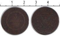 Изображение Монеты Сардиния 3 чентезимо 1826 Медь