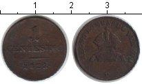 Изображение Монеты Ломбардия 1 чентезимо 1822 Медь VF