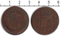 Изображение Монеты Сицилия 5 торнеси 1798 Медь XF Фердинанд IV