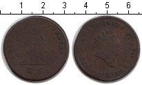 Изображение Монеты Сицилия 5 грано 1815 Медь VF