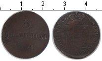 Монета Тоскана 3 кватрино Медь 1846 XF