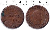 Изображение Монеты Италия 10 торнези 1798 Медь