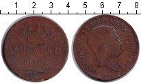Изображение Монеты Италия 10 торнези 1826 Медь  NAPLES & SICILY. Фра