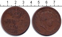 Изображение Монеты Италия 10 торнези 1840 Медь