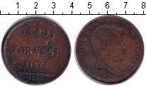 Изображение Монеты Италия 10 торнеси 1835 Медь