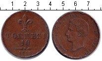 Изображение Монеты Италия 10 торнези 1859 Медь