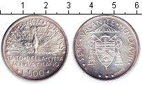 Изображение Монеты Ватикан 500 лир 0 Серебро UNC- голубь