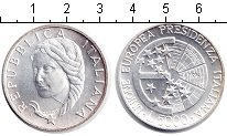 Изображение Монеты Италия 5000 лир 1996 Серебро UNC- Президенство Италии