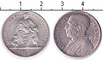 Изображение Монеты Ватикан 5 лир 1942 Серебро XF Пий XII