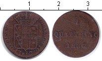Изображение Монеты Италия 1 кватрино 1837 Медь