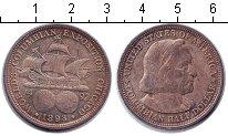 Изображение Монеты США 1/2 доллара 1893 Серебро XF Всемирная Колумбийск